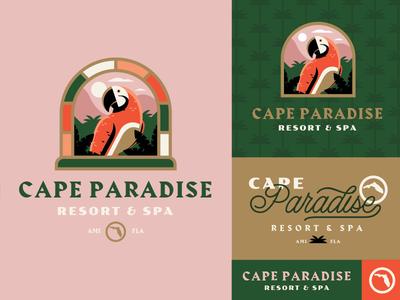 Cape Paradise Resort & Spa beach paradise spa resort bird parrot