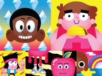 Cartoon Network Illustrations