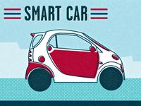 Smart Car Illustration
