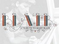 Blair Typeface