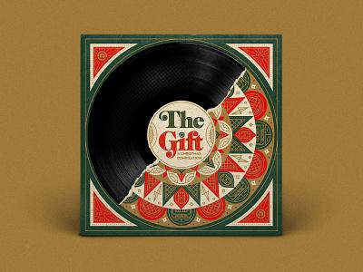 The Gift Reach Records rap hip hop record vinyl record vinyl packaging illustrator type illustration