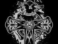 Hardened Heart T Shirt-Back Design 2