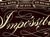 Impossible Type