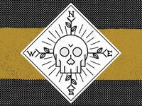 Skull Logo WIP 2