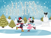 Happy Holidays From Disney