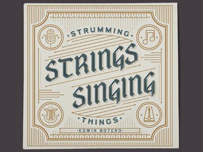 Strumming strings