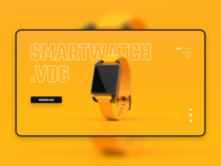 Homepage - Smartwatch Design