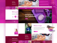 Terapie Spa Landing Page