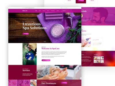 Terapie Spa & Theraphy HTML Template