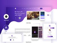 Napp App Landing Page
