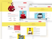 Intellect Personal Portfolio Website