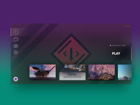 Game Launcher Concept