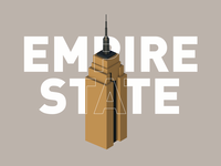 Empire State Building Isometric