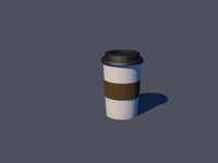 Coffee Cup 3D Practice