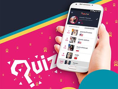 Quizwhiz ui mobile game quiz