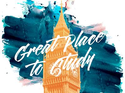 GLI Invitation Brochure student study invitation event london creative indesign photoshop graphic design