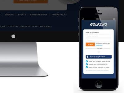 Mocking Up ui ux website design user interface
