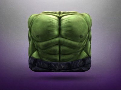 The Green Wrath Icon hulk marvel green wrath avengers bruce banner muscles incredible comics