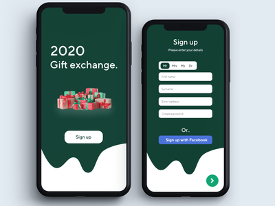 Daily UI 001 - Sign Up event sign up app mobile photoshop mac xd flat design ux ui daily ui 001