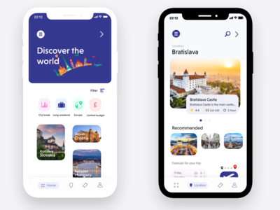 Travel app idea
