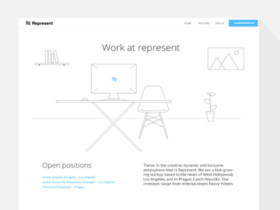 Jobs page (wip) website jobs illustrations