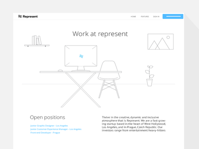 Jobs page (wip) website jobs illustrations