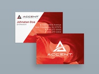 Accent Business card design