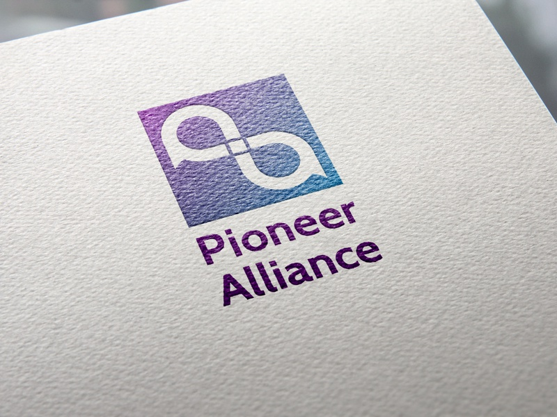 Pioneer Alliance Logo - a bank logo concept infinity logo letter p letter a lettermarkexploration lettermark logo concept adobe illustrator cc branding logo design logo bank logo