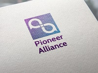 Pioneer Alliance Logo - a bank logo concept