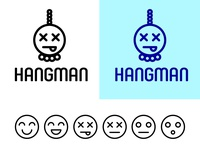Hangman Game Logo and Icons