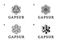 Geometrical fractal based logo concepts