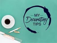 """My decorating tips"" Blog Logo"