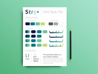 Stryx Consulting mini Style tile