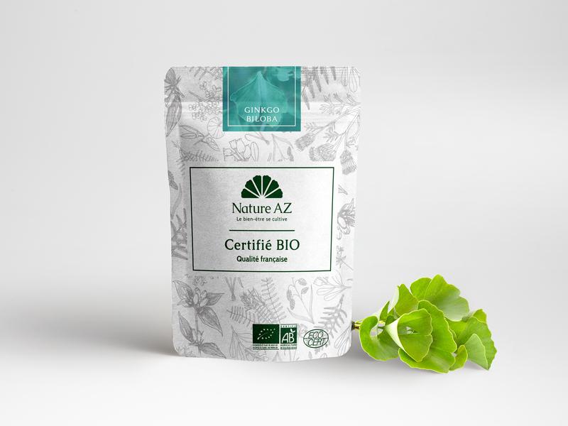 Nature AZ Packaging & Plant Mockup