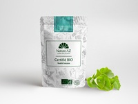 Nature AZ Packaging & Plant Mockup