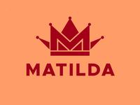 Crown M logo concept (Beauty / make-up logo)