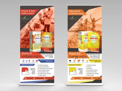 NeoGenesis Health Roll up banners Design