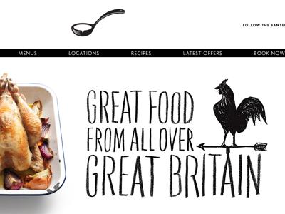 Scoff and Banter Responsive Website restaurant london responsive website