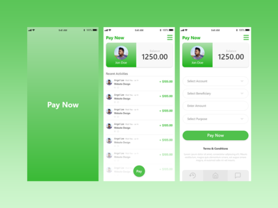 MoneyTransfer App(Pay Now)