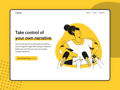 Coping—Landing Page