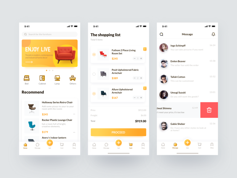 Used furniture social e-commerce web mac app 应用 图标 ux 网页设计 网页 设计 ui