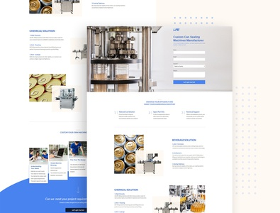LPE Landing Page