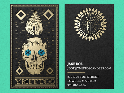 Ymittos Business Cards (…but prettier)