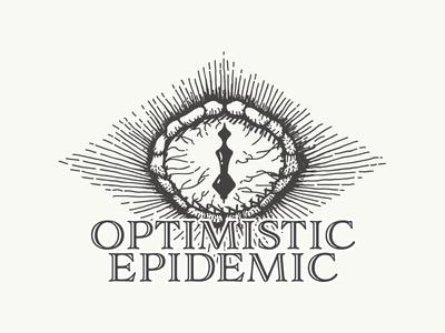 Optimistic Epidemic – Amphetamines ice synthetic drugs caffeine adderall meth amphetamines illustrator branding logo exploration