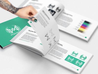 MyWarrant – Brandbooks music rap game wordmark typography sans logotype logo lettering app book identity branding