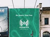 Mywarrant billboard large