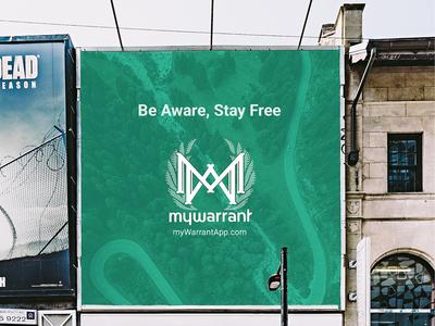 MyWarrant – Sidewalk Ad