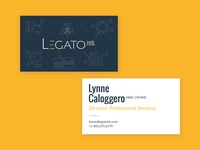 Legato Cards healthcare app typography branding design logo branding cuberto fireart ramotion focus lab focuslab ueno print business cards free business cards fast legato healthcare