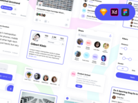SN Kit: UI Kit for Social Networks & Messengers