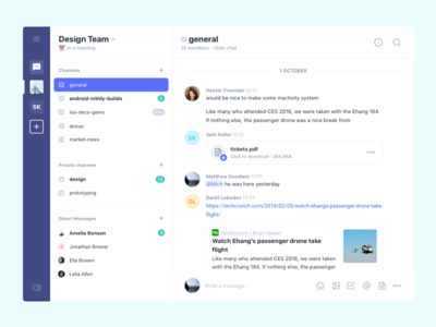 Collaboration Chat